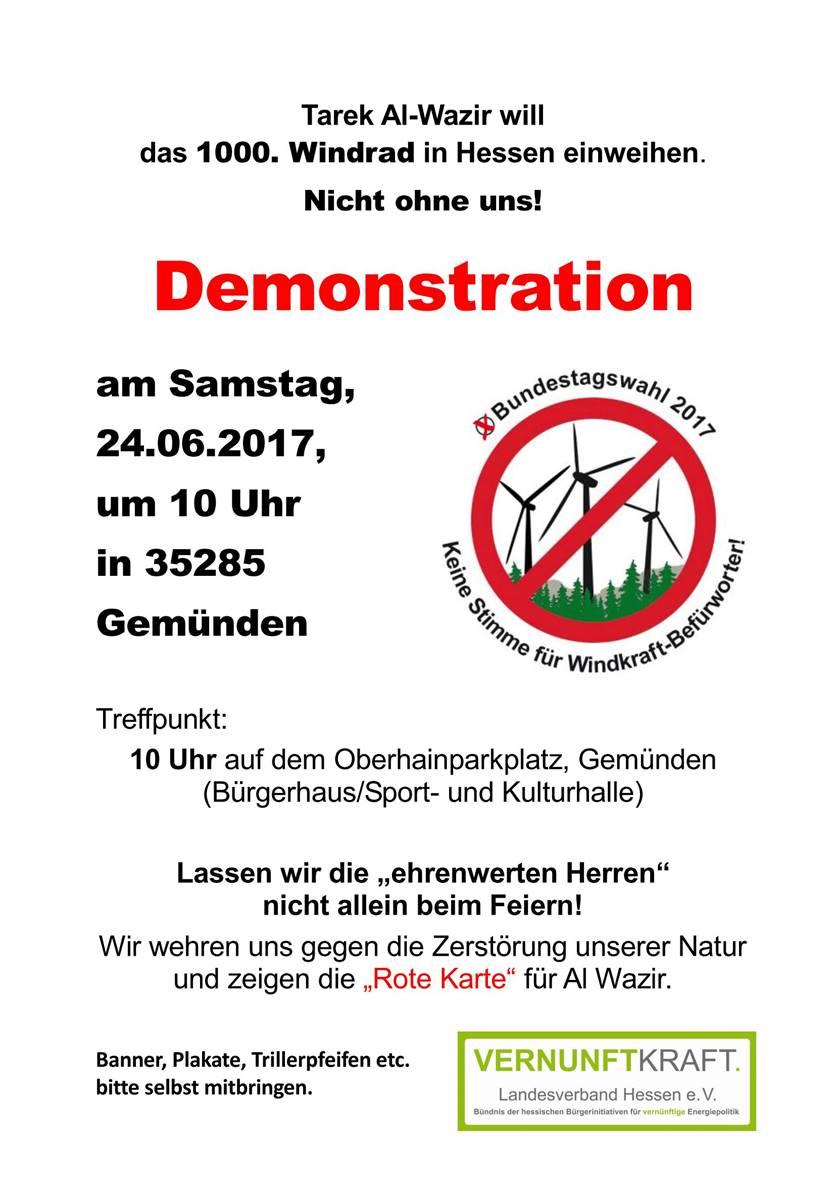 Demo_20170624_Gemünden