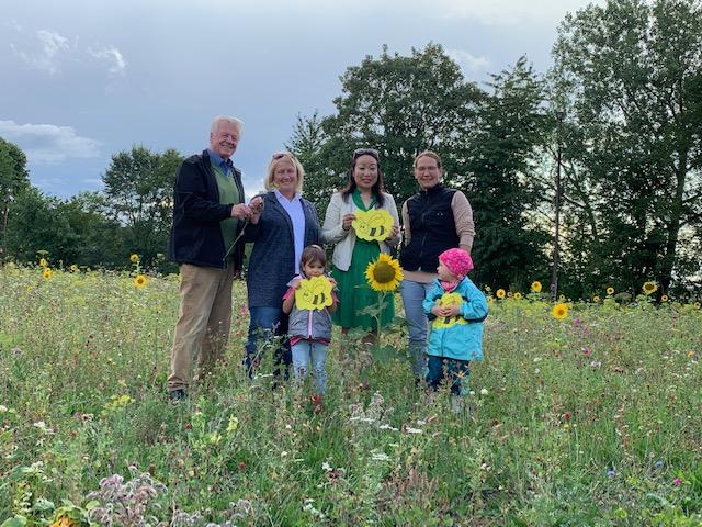 Bienenwiese in Elbenrod steht in Blüte